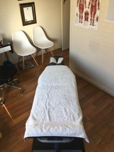 Greenacre chiropractic consultation room